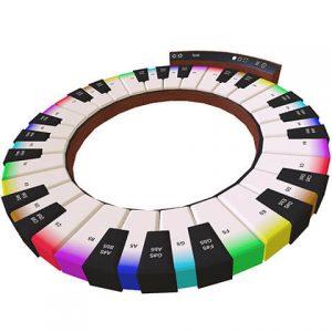 Modulia Studio - Circular Keyboard module